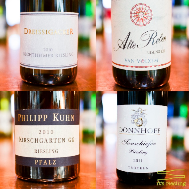 10 Best Rieslings 2013 Advance Package